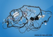 auto instrument wire harness